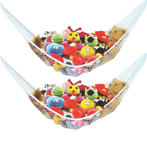 Jumbo Toy Storage Hammock - 2 Pack