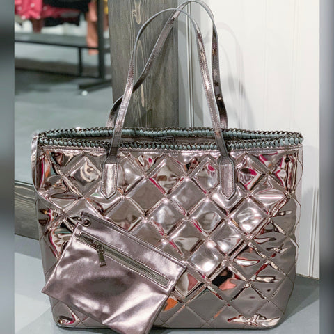 Metallic Designer Bag