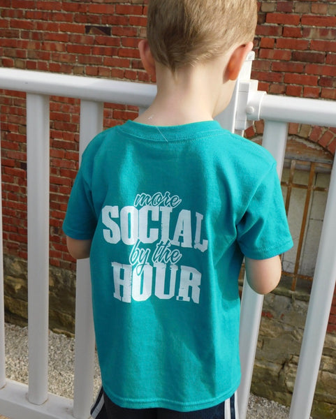 More Social By the Hour Kids Tees