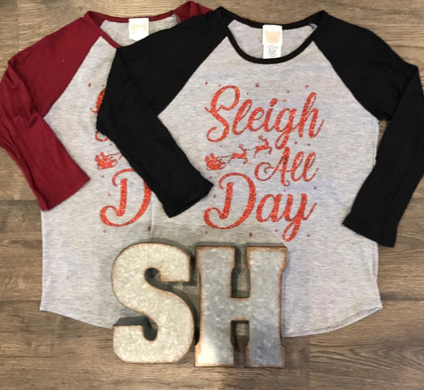 Girls Sleigh All Day Top