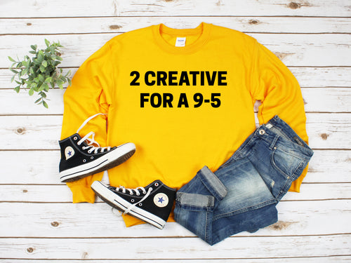 2 CREATIVE FOR A 9-5, Goal Digger Brand, Entrepreneur, CHRISTMAS, Holiday, Sweatshirt