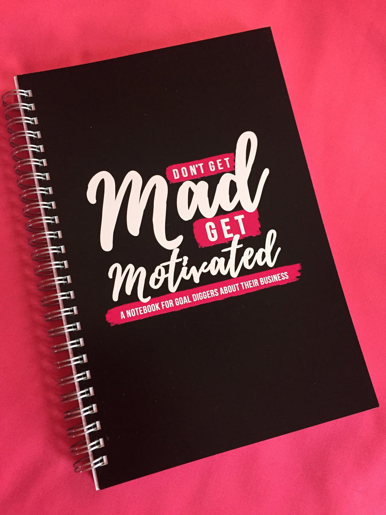 motivational notebook