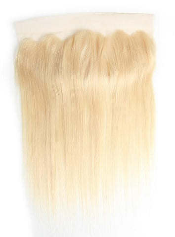 Blonde Straight Free Part Lace Frontal