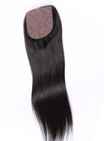 Silky Straight Silk Closure