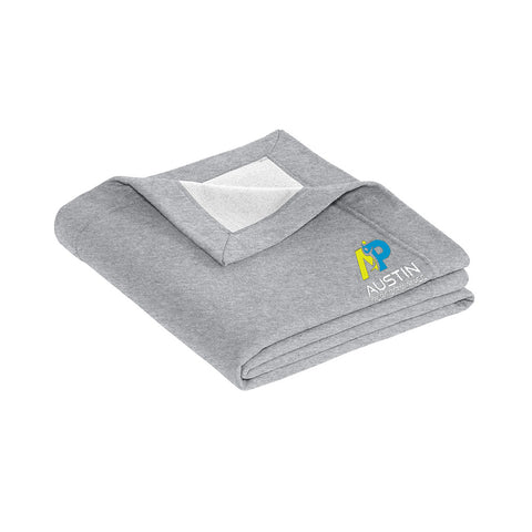 Stadium Blanket - Grey - NOT PERSONALIZED (WO-148849)