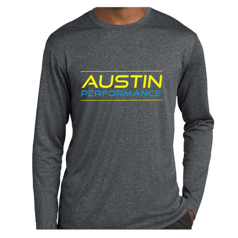 Parent / Fan Shirt Long Sleeve - Heather Graphite - Personalized With Name (141504)