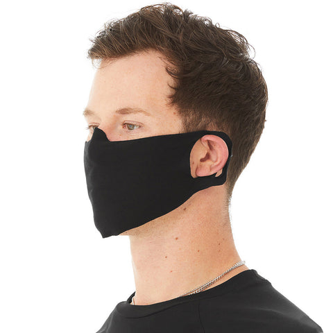 Blank T-shirt Material Face Masks