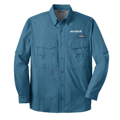 Eddie Bauer Long Sleeve Fishing Shirt (143720)