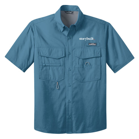 Eddie Bauer Short Sleeve Fishing Shirt (143720)