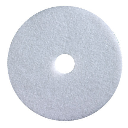18 White Polishing Floor Pad