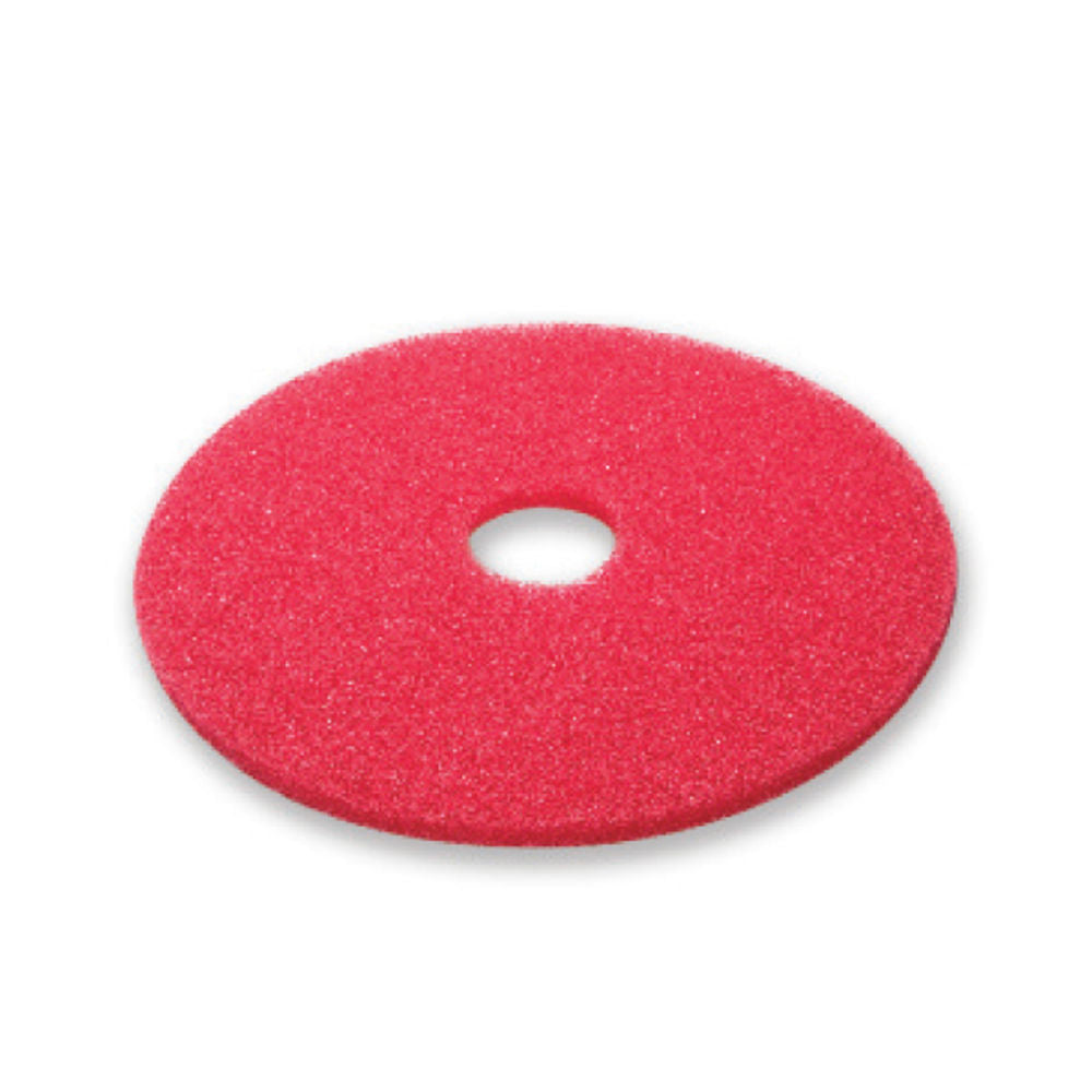 12 Red Buffing Floor Pad