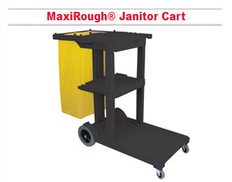 MaxiRough Janitor Cart