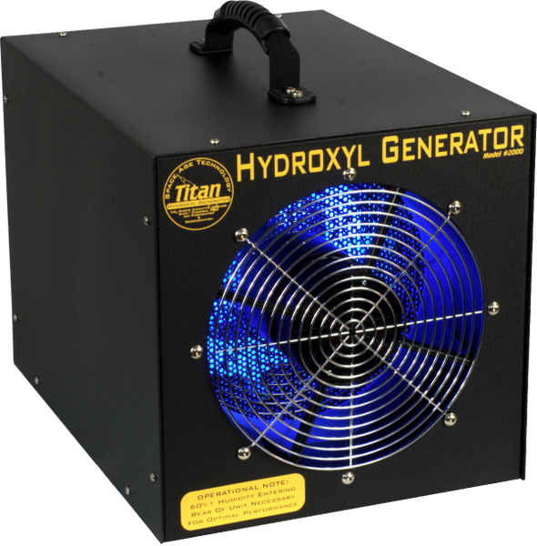 International Ozone Titan 2000 Hydroxyl Generator