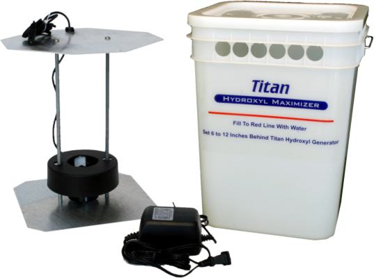 International Ozone Titan Hydroxyl Maximizer