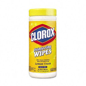 Clorox Wipes Lemon Fresh