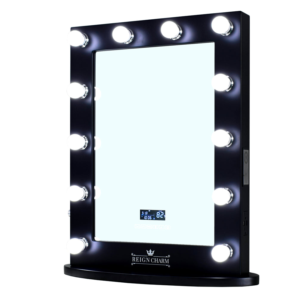 ReignCharm lighted Hollywood style vanity mirror for makeup, cosmetic, and beauty needs.