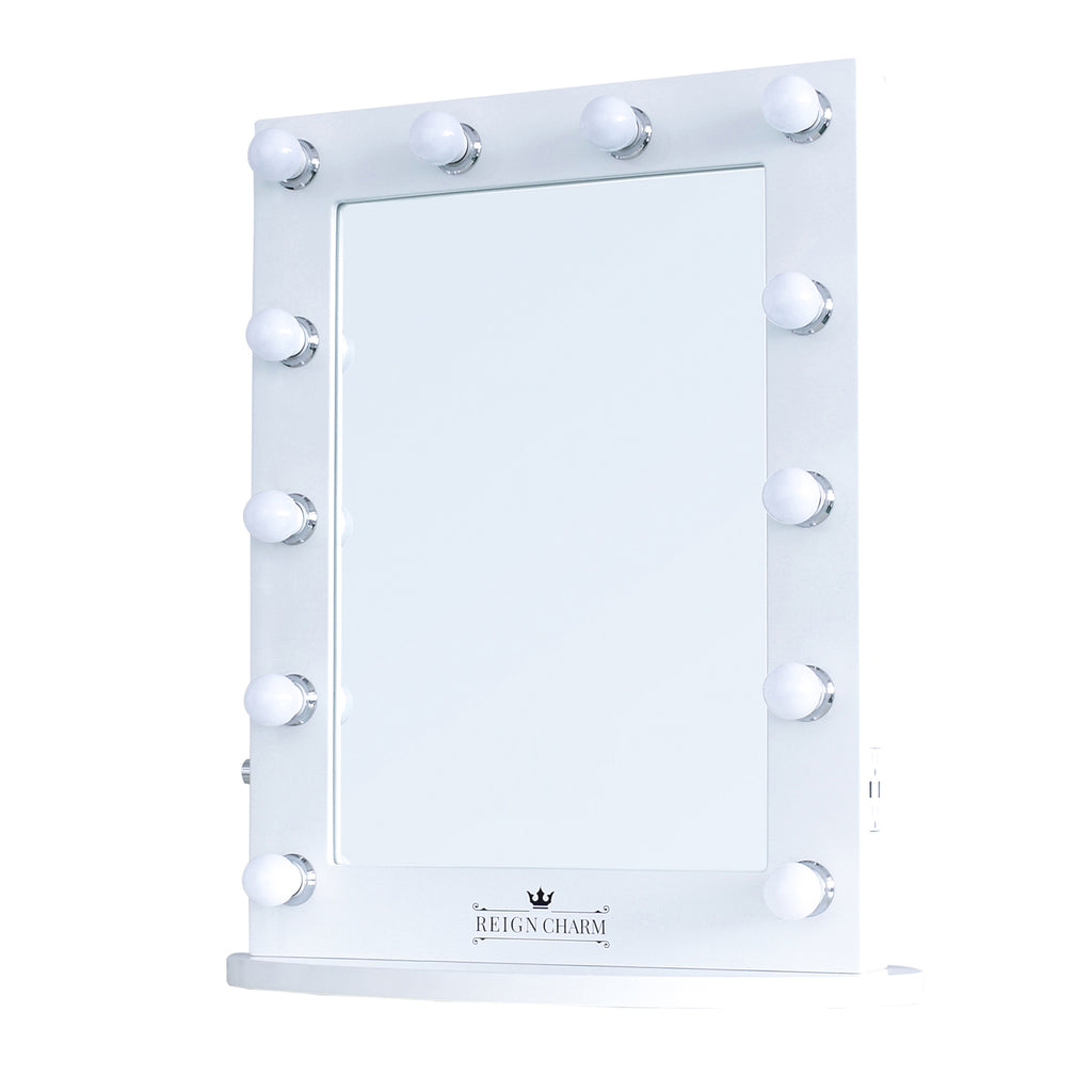 Moviestar Hollywood Vanity Mirror 12 Led Lights Dual Outlets 22w