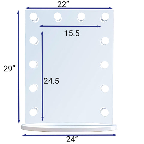 "12-Mini LED Bulbs Tinseltown Basic, 22""W x 29""H"