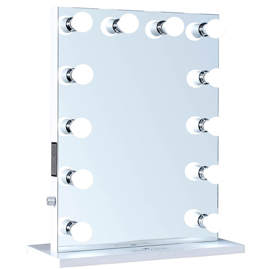 12 Led Bulbs Music Box Hollywood Vanity Mirror With Bluetooth