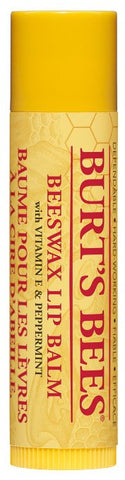 Burt's Bees - Beeswax Lip Balm Tube, .15 oz sticks