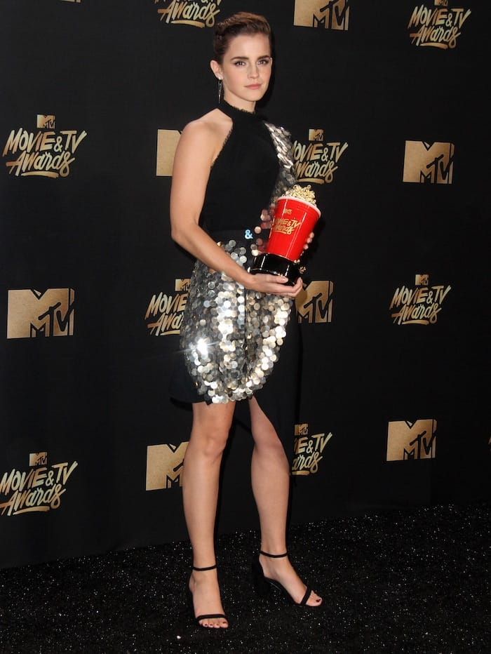 Emma Watson at the MTV Awards