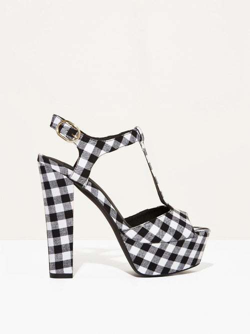 The Miley - Black Gingham