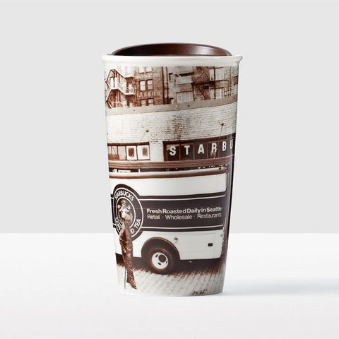 1912 Pike Street Traveler Double Wall Ceramic 2016, 12 oz