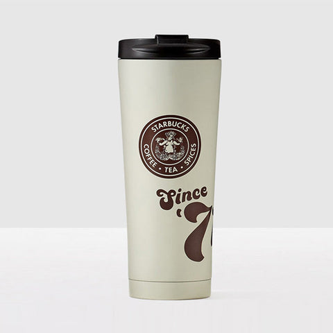 "Starbucks Stainless Steel Tumbler ""Since 1971"" Matte Finished, 12 oz"