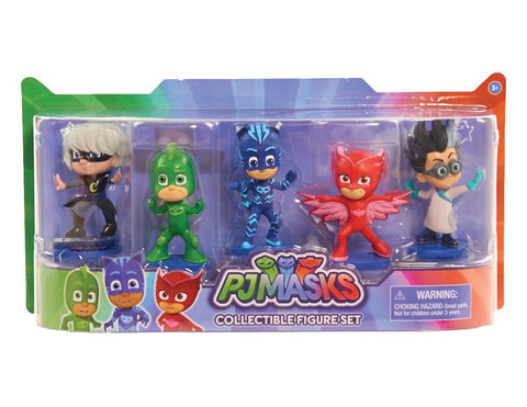 Just Play PJ Masks Collectible Figure Set (5 Pack) 파자마 삼총사 피규어 5pcs