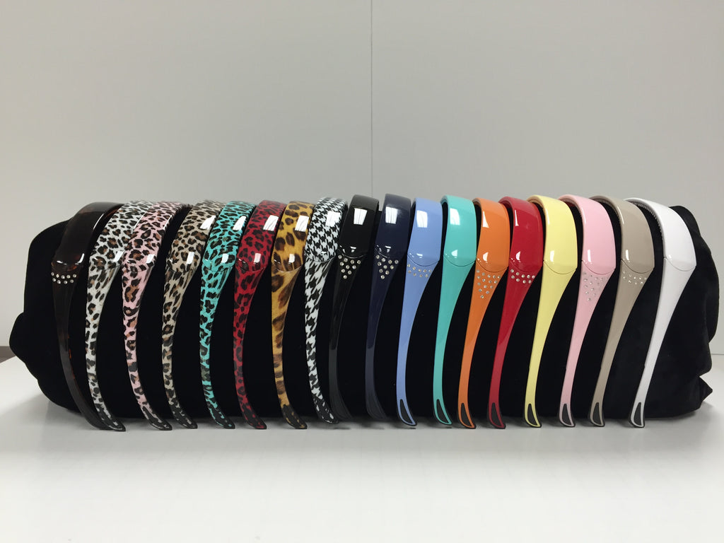 Sporty hinged headbands that are comfortable