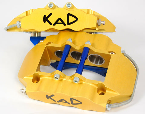 KAD Alloy 6 Pot Type A Classic Mini Brake Calipers (Pair)