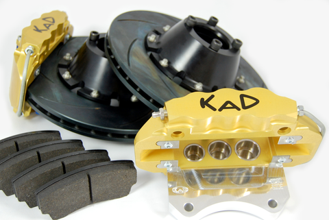 KAD Alloy 6 Pot Big Disc Classic Mini Brake Kit