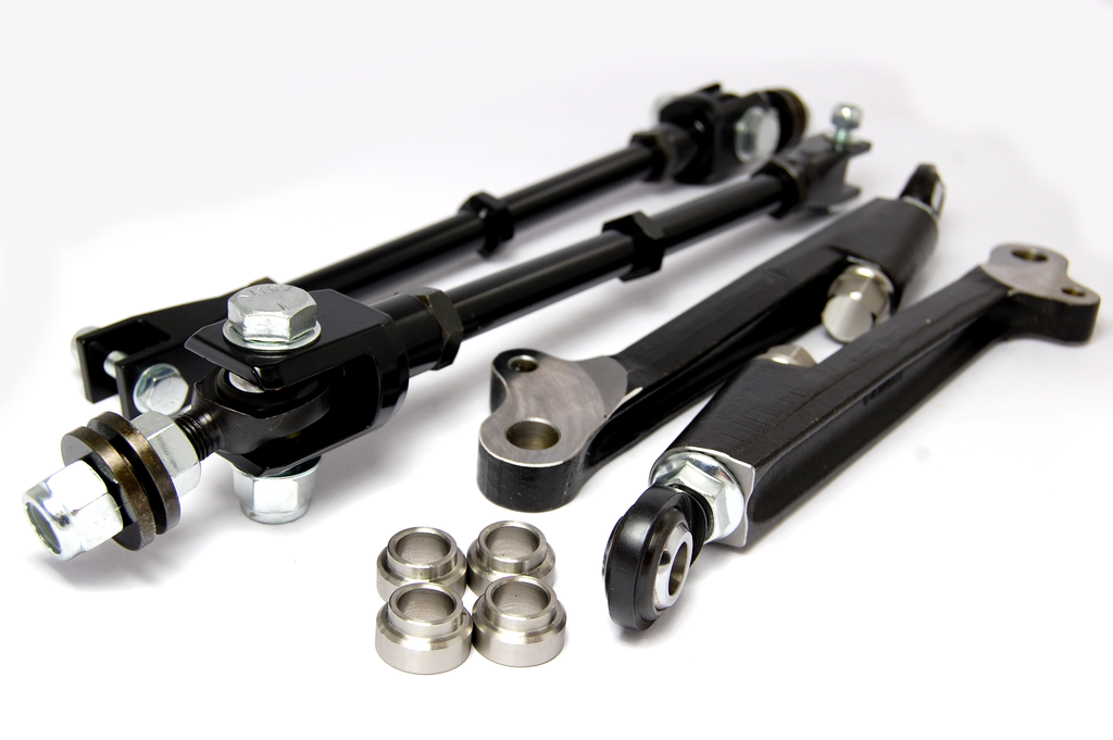 Kad Adjustable Front Lower Arm And Tie Rod Kit Race