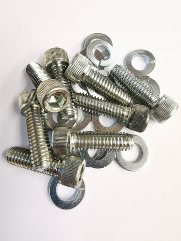 Clutch Cover Dustbin Lid Bolt Set