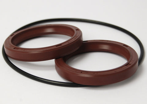 KAD Alloy Front Plate Oil Seal Set