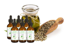 The Best Quality Potent Organic Hemp Oil Pure A+ 6 Bottles of 60ml