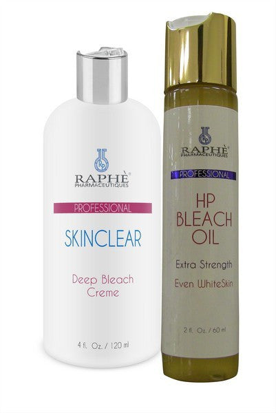 SkinClear Deep Bleaching Creme + Bleach Oil For Crepy Body Lines