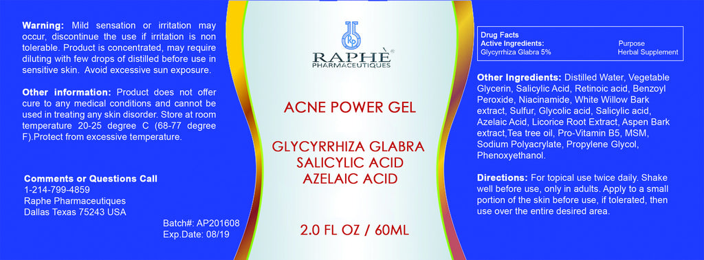 6 of Acne  Skin Care Glycyrrhiza Glabra in Micro-Salicylic Acid Solution & Retinol System
