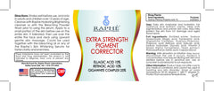 High Potency Bleach Oil 60ml+ Pigment Correcting System 60ml+Otcrilum 3D Whitening Gel 30ml
