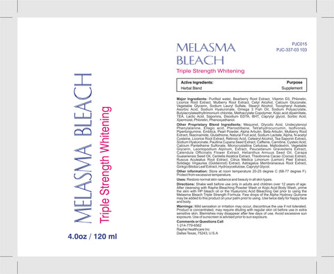 Melasma Bleach & Triple Strength Whitening Emulsion 9.5lbs