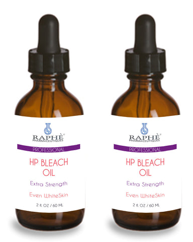 6 of Raphe Pharmaceutique Prescript Grade High Potency Skin Bleach & Clarifying Oil 60ml each