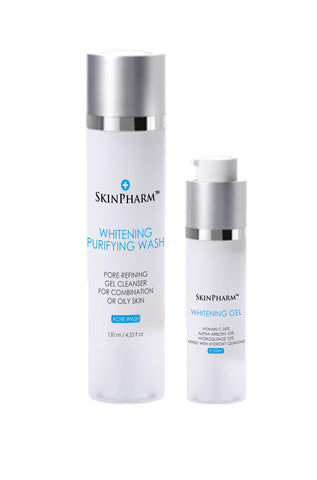 Intimate Area Purifying Cleanser 120ml & Whitening Gel 30ml For Intimate Skin Area - 6pcs