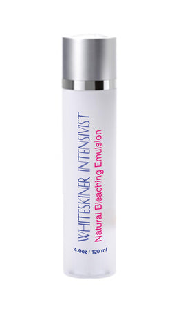 Whiteskiner Intensivist-A Natural Bleaching Emulsion 120ml & 30ml Bleaching Poria Gel - 6 Bottles