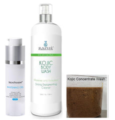 Extra Concentrate Kojic Liquid Black Wash 17oz With Whitening Gel 30ml