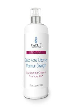 Acne Facial Wash Maximum Strength Cleanser 16 oz -