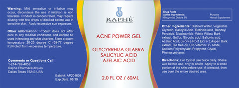 Acne Power-Glycyrrhiza Glabra in Micro-Salicylic Acid Solution & Retinol System 60ml