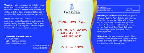Ultra Strength Acne  Prone Glycyrrhiza Glabra-Sal in Retinol Gel 16oz