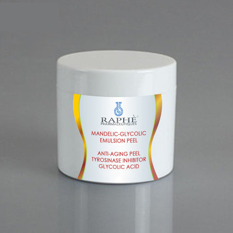 Mandelic-Glycolic Acid Emulsion 40% Concentrate 120ml - 6 Jars With Free 30ml Whitening Peel Complex