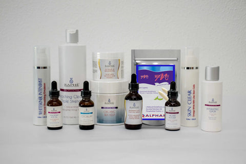 Clarifying Skin Lightening Collection For Dry Skin