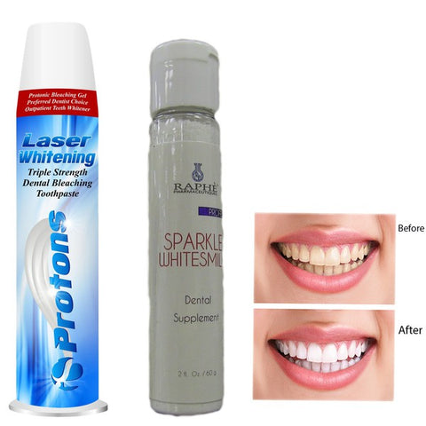 White activated Charcoal Laser Whitening Dental Creme and Teeth Bleaching Paste For Professional Use 50ml + Moist Dental Bleaching Powder 60g
